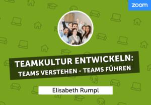 Teamkultur entwickeln: Teams verstehen – Teams führen